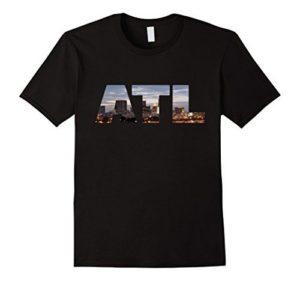 ATL with City skyline - Amazon Merch