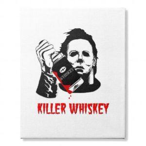 Killer Whiskey canvas- Sunfrog Tshirts