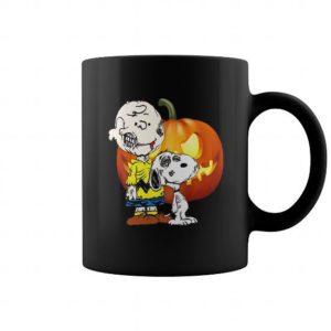 Zombie Brown and the Great Pumpkin mug - Sunfrog shirts