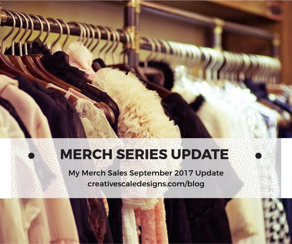 Merch Sales Update