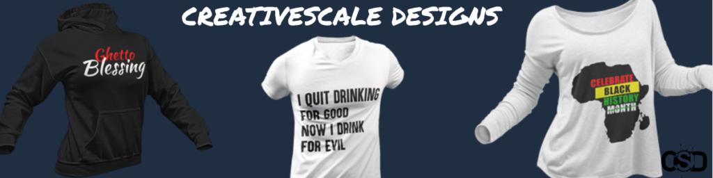 Creativescale Designs - Merch shop